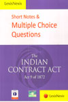 Short Notes and Multiple Choice Questions The Indian Contract Act 9 of 1872