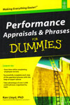 Making Everything Easier Performance Appraisals and Phrases For Dummies