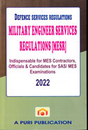 Defence Services Regulations Military Engineer Services Regulations MESR
