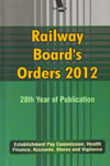 Railway Boards Orders 2012