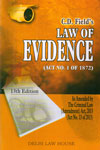 Law of Evidence Act No 1 of 1872