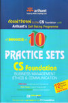 A Dossier Of 10 Practice Sets CS Foundation Business Management Ethics And Communication