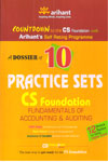 A Dossier Of 10 Practice Sets CS Foundation Fundamentals Of Accounting And  Auditing
