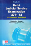 Delhi Judicial Service Examination 2011-12 Preliminary and Main