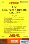 The Merchant Shipping Act 1958 Bare Act With Short Notes