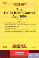 The Delhi Rent Control Act 1958  Bare Act With Short Notes