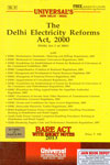 The Delhi Electricity Reforms Act 2000 Bare Act With Short Notes