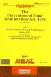 The Prevention of Food Adulteration Act 1954 Bare Act With Short Notes