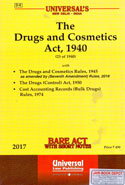 The Drugs and Cosmetics Act 1940 Bare Act With Short Notes