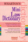 Whartons Mini Law Dictionary