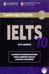 Cambridge English IELTS 10 With Answers With 2 CDs