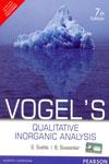 Vogles Qualitative Inorganic Analysis