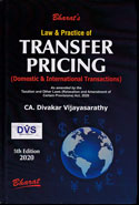Law and Practice of Transfer Pricing Domestic and International Transactions