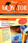 Monitor Previous Examination Questions With Suggested Answers CA Final Group 1 Paper 3 Advanced Auditing and Professional Ethics