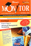 Monitor Previous Examination Questions With Suggested Answers CA Final Group 2 Paper 5 Advanced Management Accounting