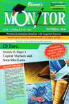 Monitor Previous Examination Questions With Suggested Answers CS Exec Module 2 Paper 6 Capital Markets and Securities Laws