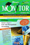 Monitor Previous Examination Questions With Suggested Answers CS Exec Module 1 Paper 2 Cost and Management Accounting