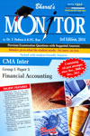 Monitor Previous Examination Questions With Suggested Answers CMA Inter Group 1 Paper 5 Financial Accounting