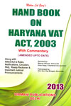 Handbook on Haryana Vat Act 2003 With Commentary