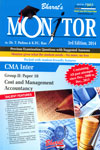 Monitor Previous Examination Questions with Suggested Answers CMA Inter Group II Paper 10 Cost and Management Accountancy