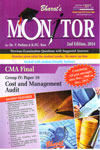 Monitor Previous Examination Questions With Suggested Answers CMA Final Group 4 Paper 19 Cost and Management Audit
