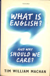What Is English And Why Should We Care