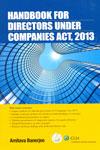 Handbook Directors Under Companies Act 2013