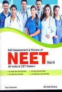 Self Assessment and Review of NEET All India and CET Pattern Vol II