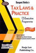 Tax Laws and Practice CS Executive Programme