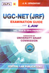 UGC NET JRF Examination Guide on Law First Second and Third Papers