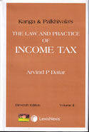 Kanga and Palkhivalas the Law and Practice of Income Tax In 2 Vols