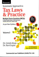 Systematic Approach to Tax Laws and Practice A.Y. 2017-2018