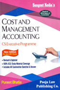 Cost and Management Accounting CS Executive Programme