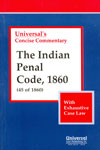 Concise Commentary the Indian Penal Code 1860 with Exhaustive Case Law