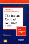 Concise Commentary the Indian Contract Act 1872 With Exhaustive Case Law