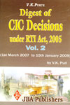 Digest of CIC Decisions under RTI Act 2005 Vol 2