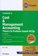 Cost and Management Accounting Theory and Problem Based MCQs for CS Executive June 2019 Exam Old Syllabus