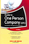 Guide to One Person Company Incorporation Management and Compliances