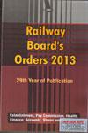 Railway Boards Orders 2013
