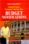 Central Excise Customs and Service Tax Budget Notifications 2016-17