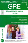 Manhattan Prep GRE Reading Comprehension and Essays Strategy Guide
