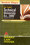 Handbook on Uttar Pradesh Technical University Act 2000 Alongwith Allied Laws