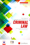 Short Notes and Multiple Choice Questions on Criminal Law