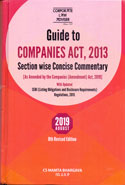 Guide to Companies Act 2013 Section Wise Concise Commentary