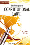 Study In Law the Principles of Constitutional Law-II