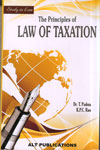 Study in Law the Principles of Law of Taxation