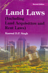 Land Laws Including Land Acquisition and Rent Laws