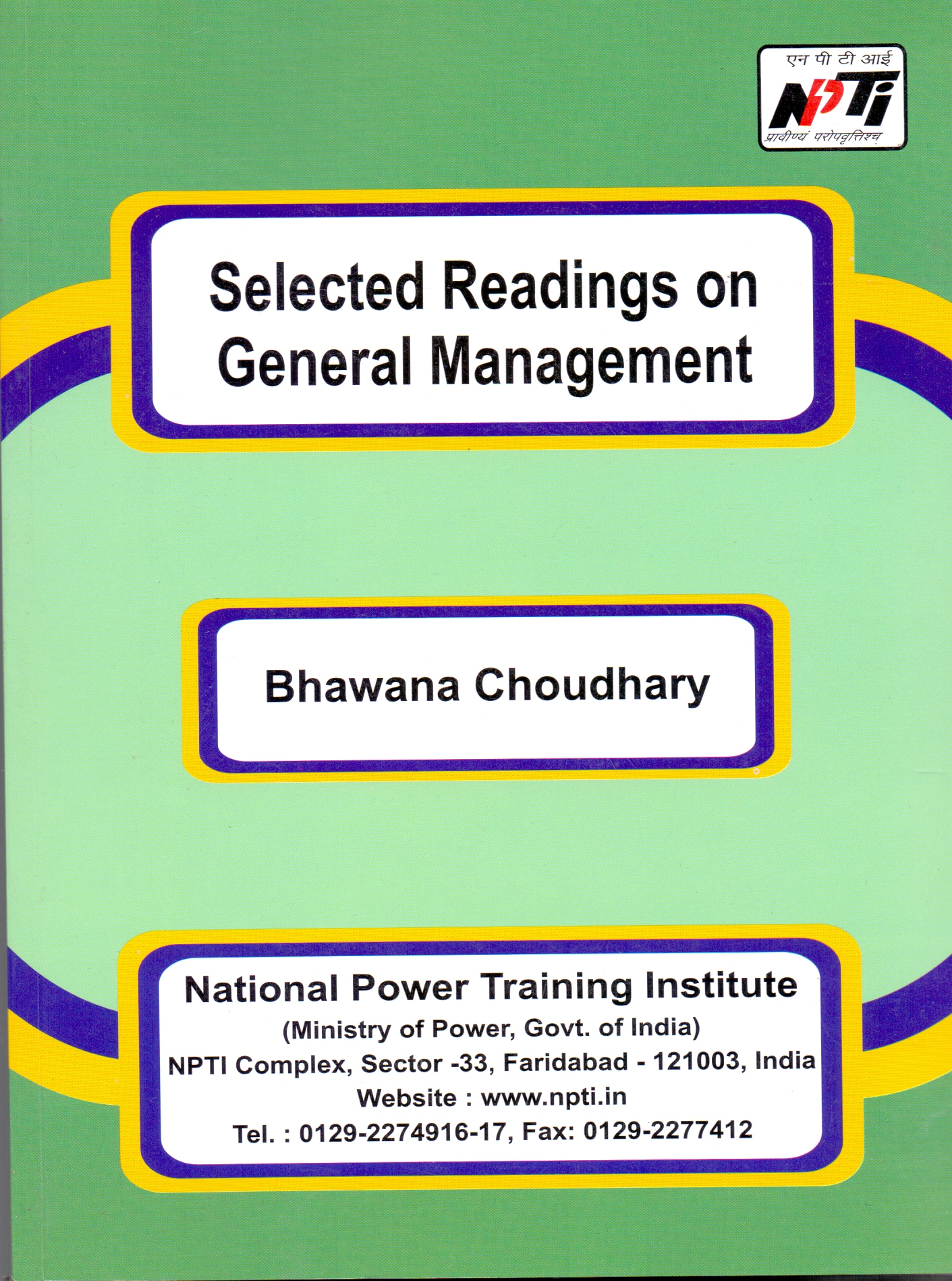 Selected Readings on General Management