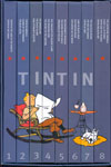 The Adventures Of Tintin In 8 Vols
