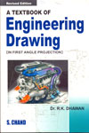 A Textbook of Engineering Drawing in First Angle Projection
